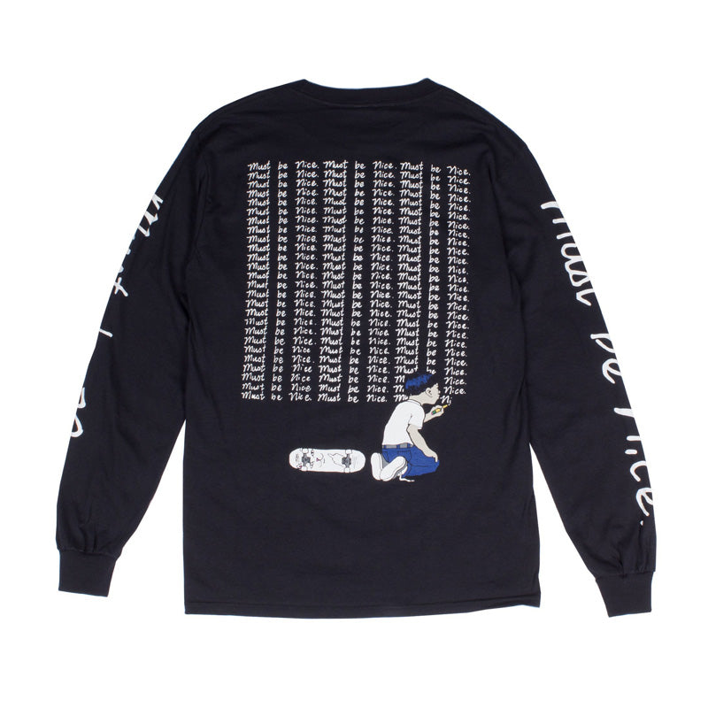 RIPNDIP: Standards L/S (Black)