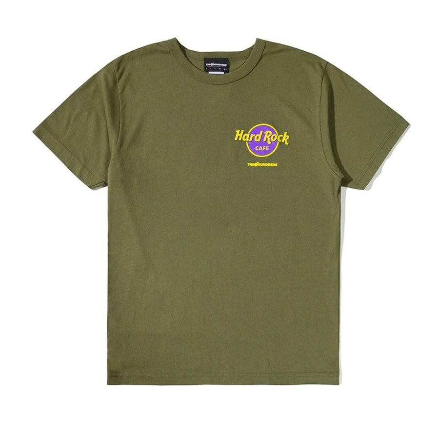 The Hundreds : Save The Planet T-Shirt (Moss)