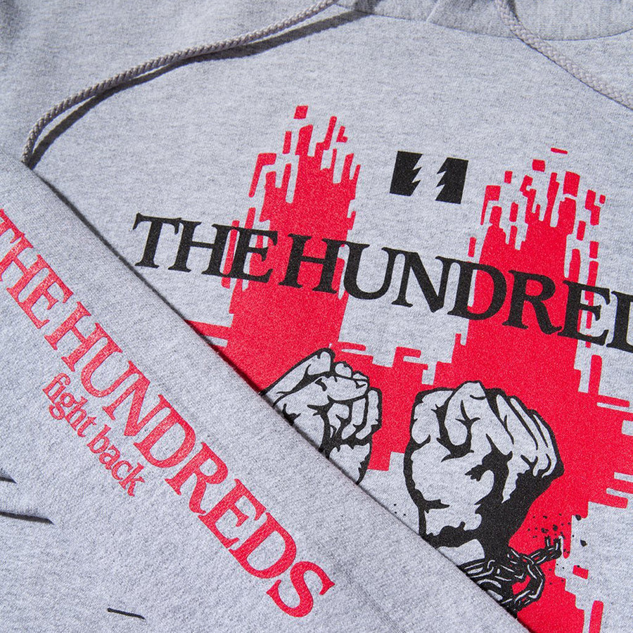 The Hundreds : Break Pullover (Athletic Heather)