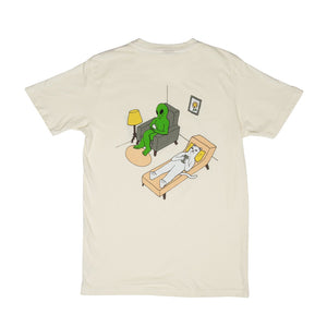 RIPNDIP: Theraphy Tee (Off-White)