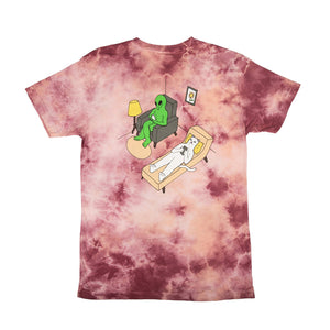RIPNDIP: Therapy Tee (Peach Wash)