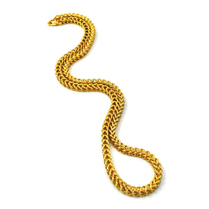 The Gold Gods: 4mm Franco Chain Gold