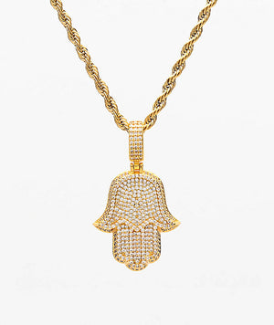 The Gold Gods: GDHamsa Pendant