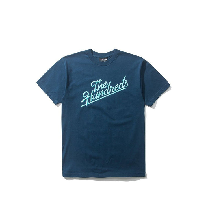 The Hundreds: Modesto Slant T-shirt (Harbor Blue)