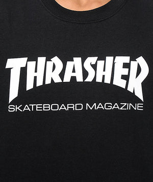 8f411367fbc THRASHER TOP   SKATE MAG LONG SLEEVE (Black)