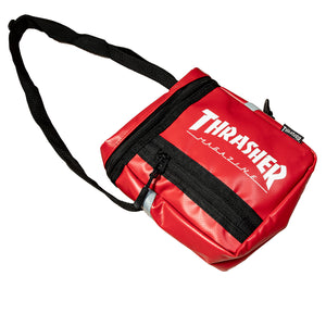 Thrasher : Hometown Box Shoulder Bag (Red)