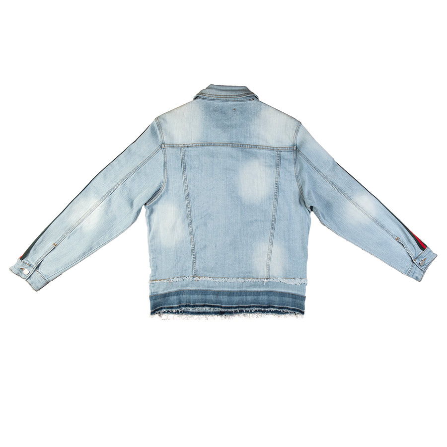 Crysp Denim : Kai Denim Jacket (Blue)