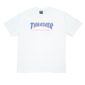 Thrasher : Bars (White)
