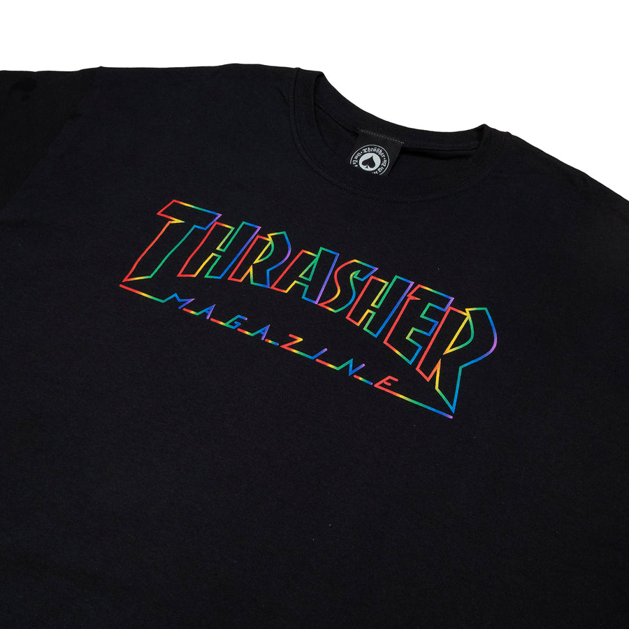 Thrasher : Spectrum S/S (Black)