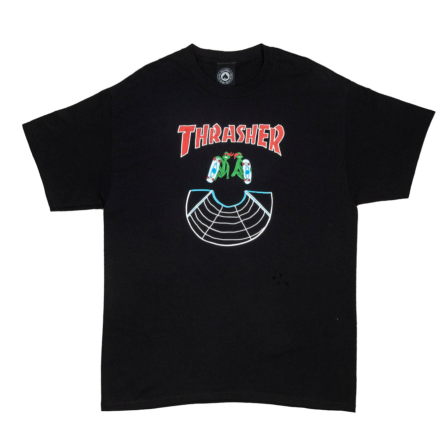 Thrasher : Doubles S/S (Black)
