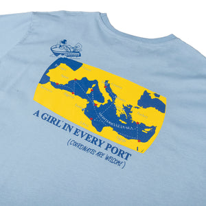 Pas De Mer : Cruise T-Shirt (Light Blue)