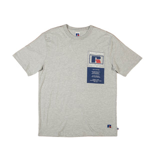 Russell Athletic: Scott Tee (It Grey Marl)