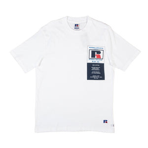 Russell Athletic: Scott Tee (White)