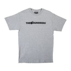 The Hundreds : Forever Bar Logo T-Shirt (Athletic Heather)