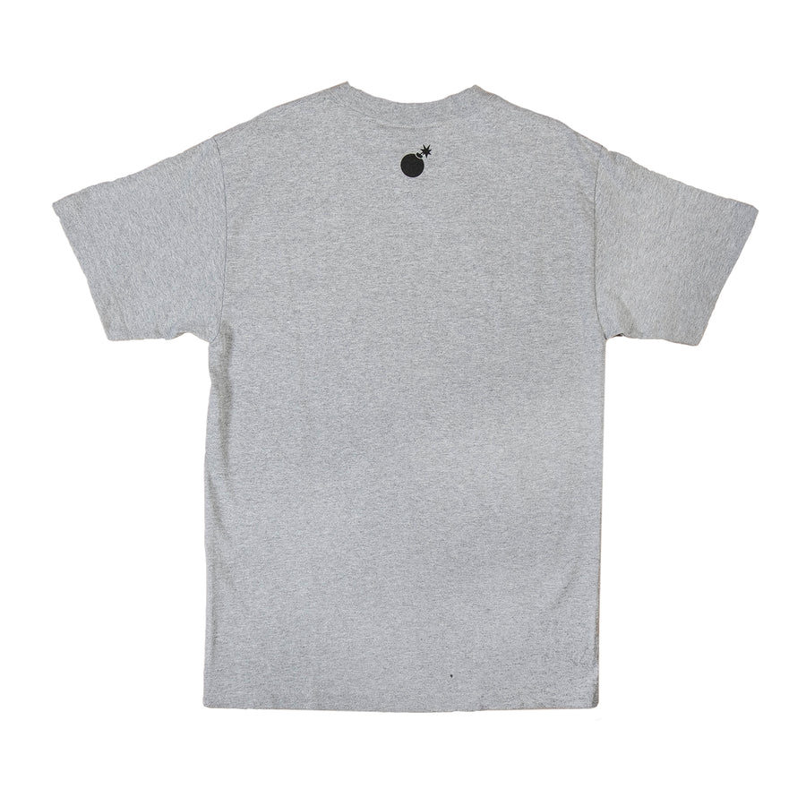 The Hundreds : Forever Slant Logo T-Shirt (Athletic Heather)