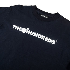 The Hundreds : Forever Bar Logo T-Shirt (Navy)