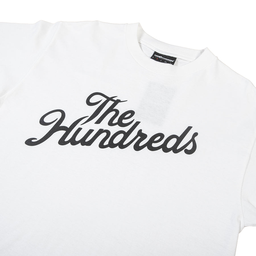 The Hundreds : Forever Slant Logo T-Shirt (White)