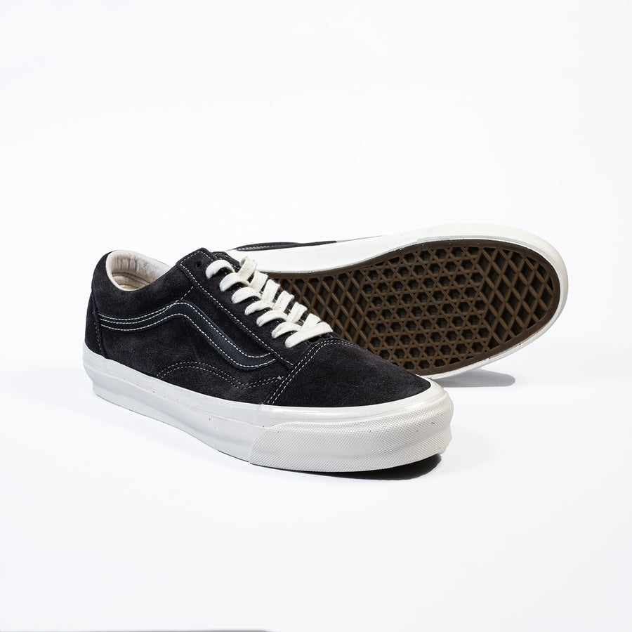 Vans Vault: Og Old Skool Lx Nubuck/Leather (Raven/Black)