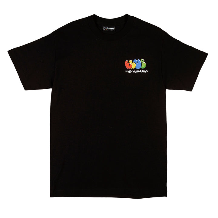 The Hundreds : Wrapped Flag T-Shirt (Black)
