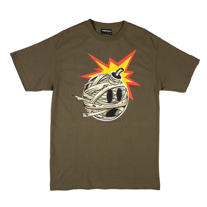 The Hundreds : Mummified Adam T-Shirt (Military Green)