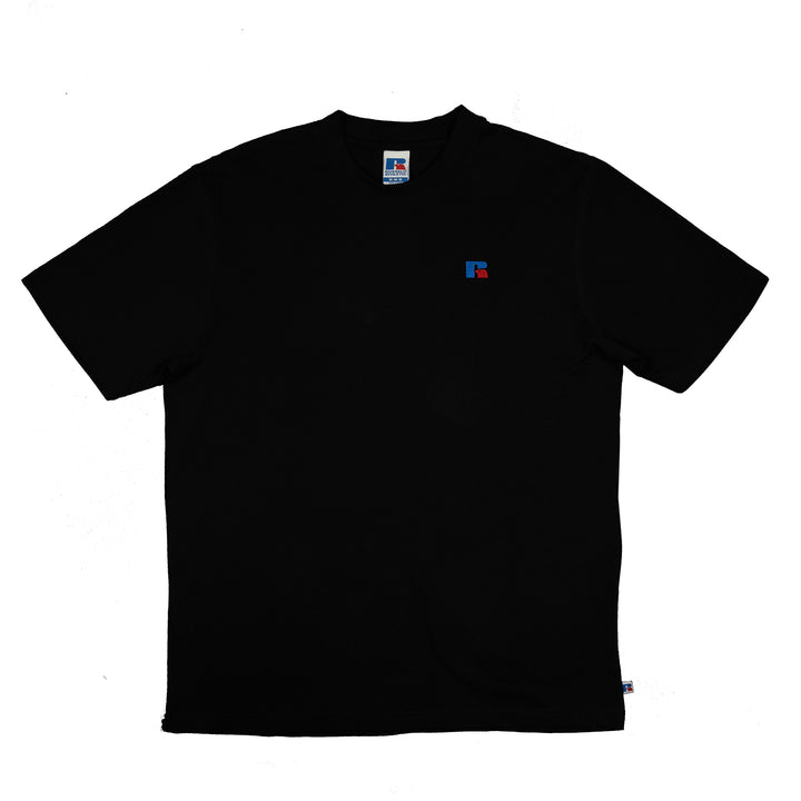 Russell Athletic: Baseliner Tee Heavyweight (Black)