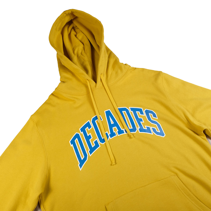 Decades : Campus Hoodie (Yellow)