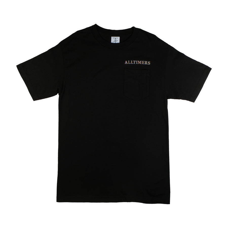 Alltimers: Groovy Pocket Tee (Black)