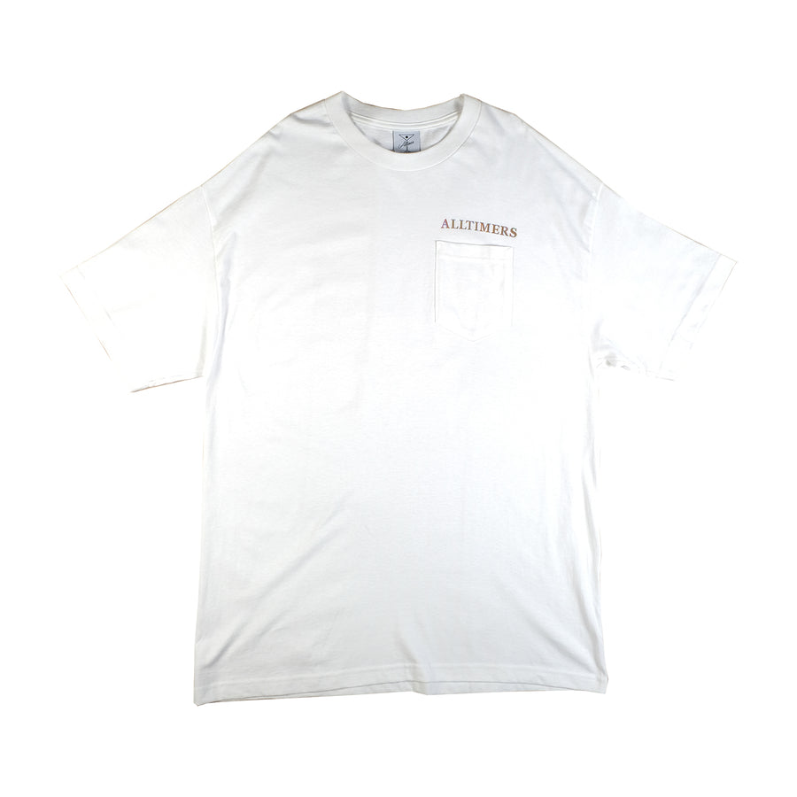 Alltimers: Groovy Pocket Tee (White)