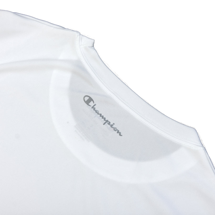 Champion: Double Dry Tee (White)