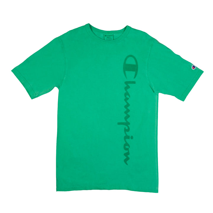 Champion : Garment Dyed Heritage Tee (Green Myth)