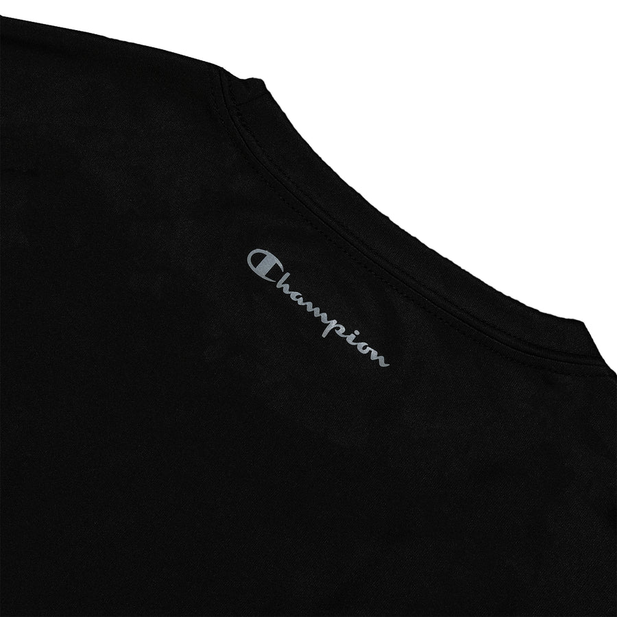 Champion: Double Dry Tee (Black)