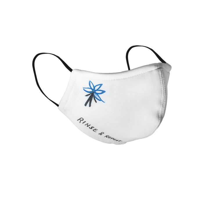 The Nines : Rinse and Repeat Face Mask (White)