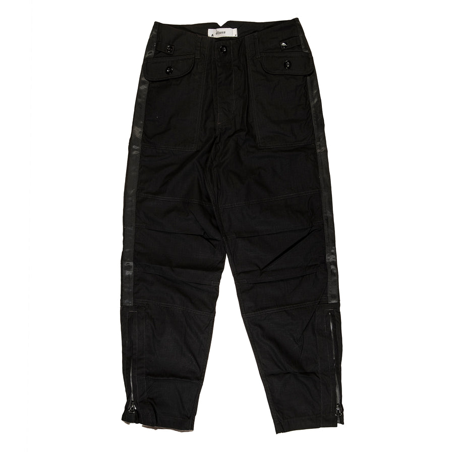 ELHAUS : JUMPER PANTS (BLACK STRIPE)