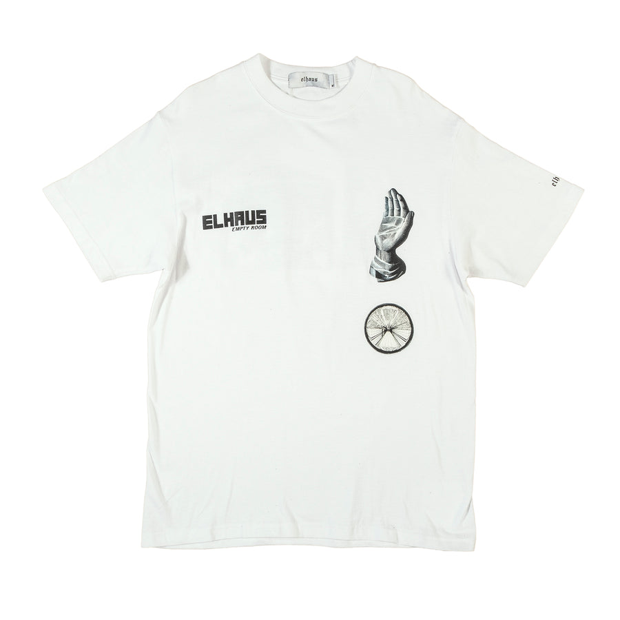 ELHAUS : SPHERE T-SHIRT (WHITE)