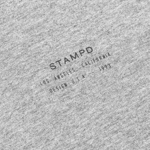 Stampd: Stacked Logo Tee (Heather Grey)