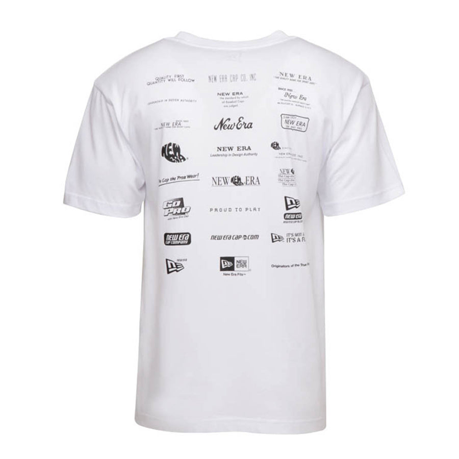 New Era : LFS Classic Logo Archive Sleeves Tee (White)
