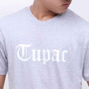 New Era : Col Tee Tupac From Concrete (Grey)