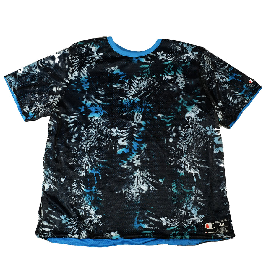Champion: Reversible Mesh Tee (Blue/Black)