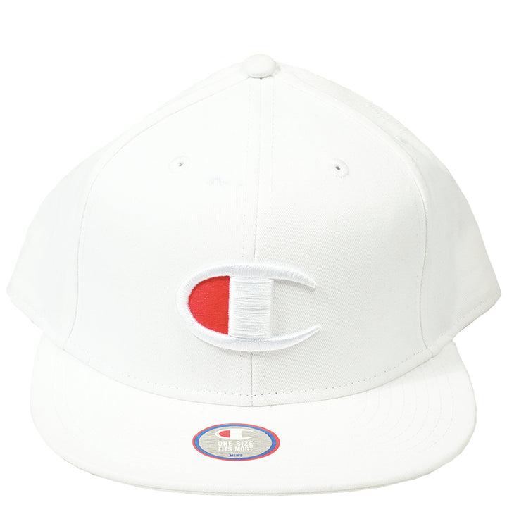 Champion: BB Snapback Big-C Hat (White)