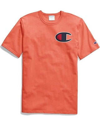 CHAMPION: HERITAGE TEE ELEVATED GRAPHICS (GROOVY PAPAYA)