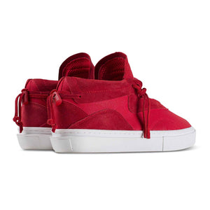 Clear Weather - Everest - Red Canvas/Suede