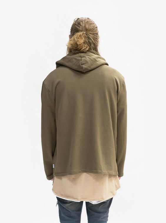 Profound Aesthetics: Shawl Hoodie in the Bark (Brown)
