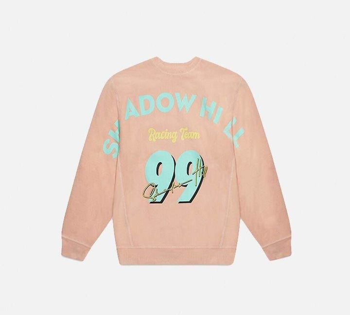 Shadow Hill : Racing Crewneck (Icy Peach)