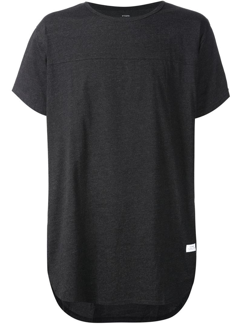 STAMPD: Chambered Scallop Tee (BLACK)