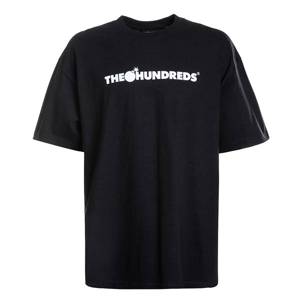 The Hundreds: Forever Bar Logo T-shirt (Black)