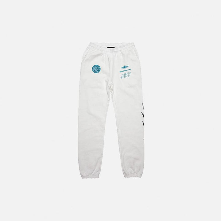 Shadow Hill : Coral Sweatpants (White)