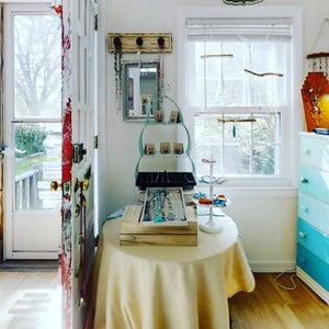 The interior of Janine's Jewelry Design, 841 Washington Street, Holliston, MA 01746