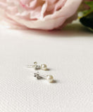 Pearl Stud Earrings/ Freshwater Pearl Earrings /Classic Stud Earrings