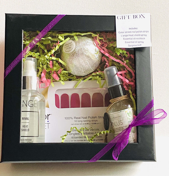 Spa Style Gift Box/ Gift Box- Spa Deluxe