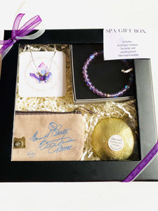 Gift Box-Purple and Gold